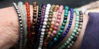 Lot de 3 bracelets en 4mm