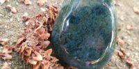 Pendentif en Agate mousse