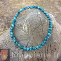 Bracelet pierre rare 4 mm