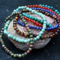 Bracelet en pierres de 4mm